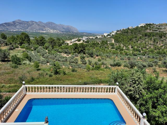 Four bedroom Villa in Orba with lovely views.