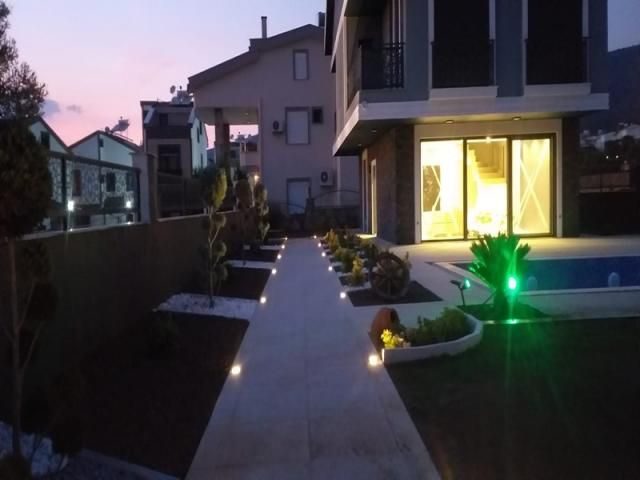 Modern Detached three storey Villa with amazing views available in Akbuk  - TC1260