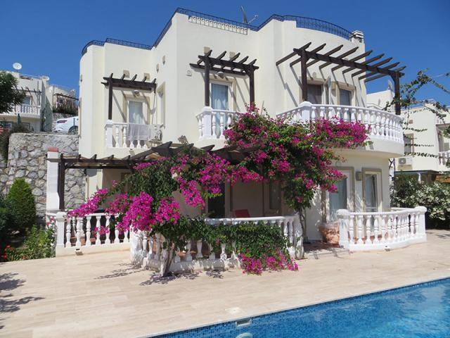 Beautiful Detached key ready home with stunning views over Tuzla, Bodrum - TC1265